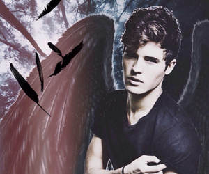 angel, fallen, and becca fitzpatrick image