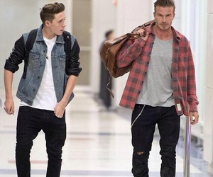 David Beckham, beckham, and brooklyn beckham image