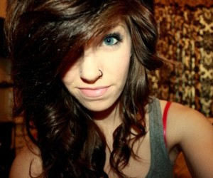 girl, allison paige, and piercing image