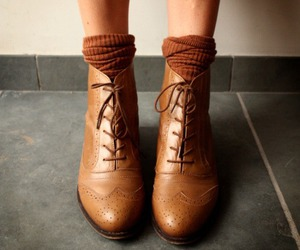 shoes and brown image