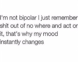 bipolar, real, and true image