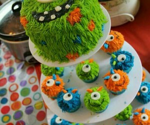 cake, funny, and green image