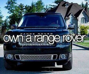 car, range rover, and before i die image