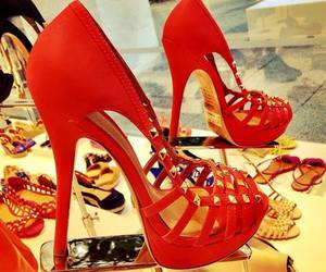 shoes, high heels, and style image