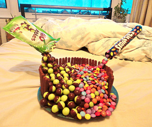 cake, candy, and color image