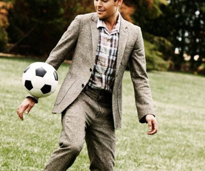 zac efron, Hot, and soccer image