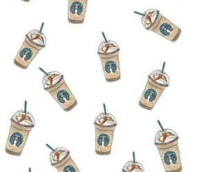 starbucks, wallpaper, and coffee image