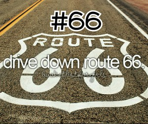 route 66, 66, and drive image