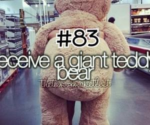 before i die, sweet, and teddy bear image