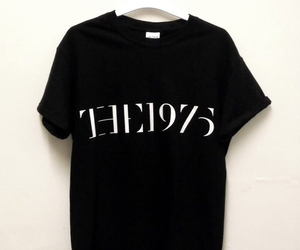 the 1975, black, and band image