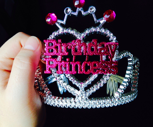 birthday, crown, and princess image