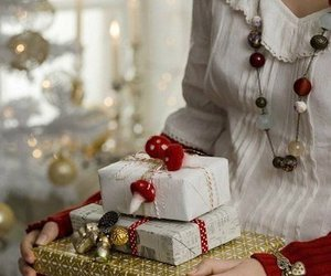 christmas, gift, and winter image