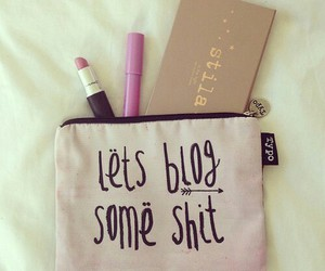blog, makeup, and girly image
