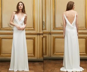 bride, delphine manivet, and dress image