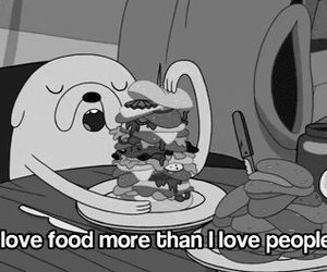 black and white, love, and food image