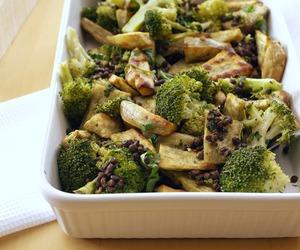 bake, broccoli, and delicious image