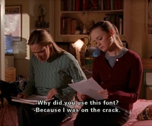 gilmore girls, rory gilmore, and paris geller image