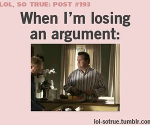 funny, lol, and argument image