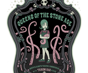 qotsa, rock posters, and queens of the stone age image