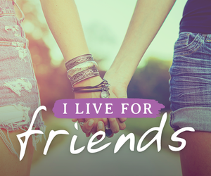 friends and live image