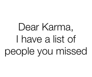 karma, people, and quote image