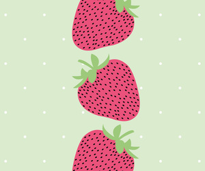 background and strawberry image