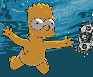 bart, Krusty, and funny image