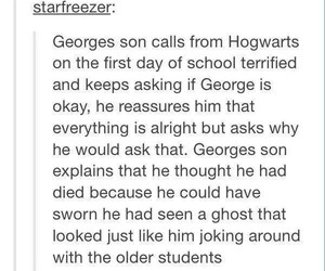 dying, fred weasley, and notok image