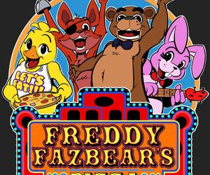 horror game, freddy fazebear, and five night at freddy's image
