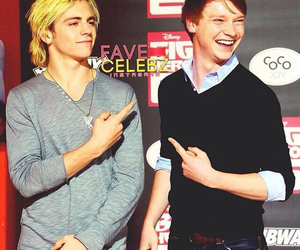 calum worthy, ross lynch, and austin and ally image