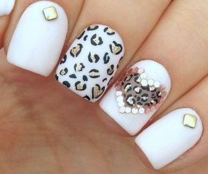 nails, white, and heart image