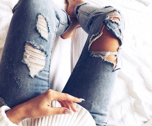 clothes, nails, and cute image