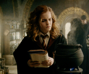 books, emma watson, and hermione granger image
