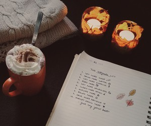autumn, love, and cold image