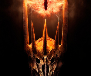 sauron, LOTR, and the lord of the rings image