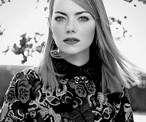 emma stone, actress, and vogue image