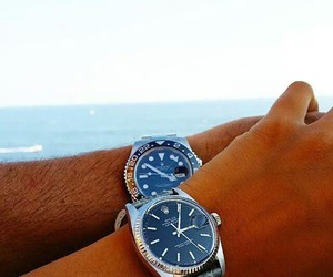 love, fashion, and rolex image