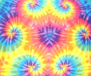 tie dye and wallpaper image