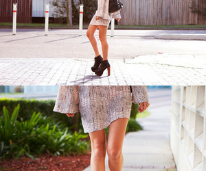 dress, fashion, and legs image