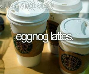 eggnog and lattes image