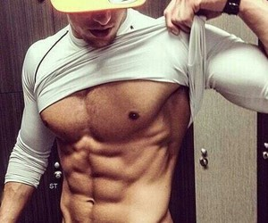 abs, fit, and guy image