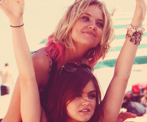 lucy hale, ashley benson, and pretty little liars image