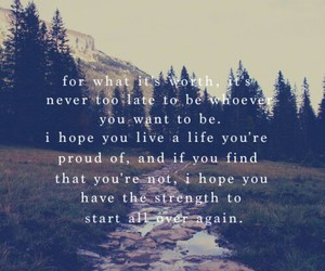 quote, life, and strength image