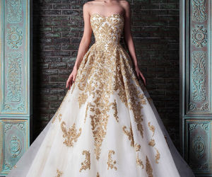 beauty, dress, and fashion image