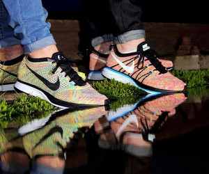 multicolour, nike, and racer image