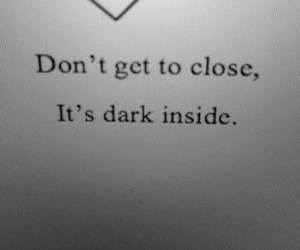 dark, quotes, and demon image