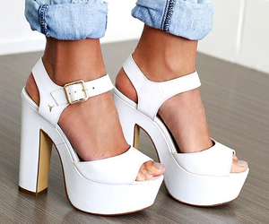 fashion, heels, and on trend image