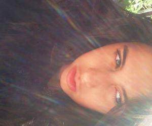 brown eyes, girl, and brown hair image