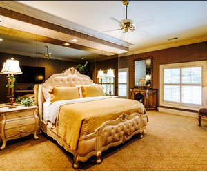 bedroom, rich, and classy image