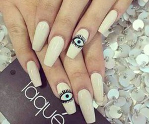 nails, model, and outfit image